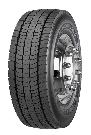 Anvelope GOODYEAR LHD II+ 295/80 R22.5 152 M