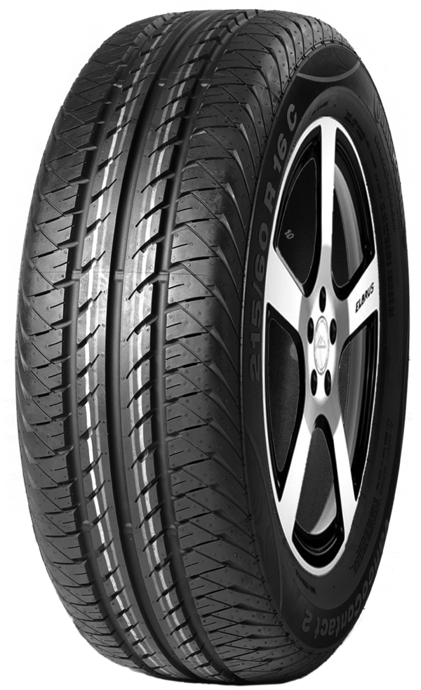 Anvelope Vara CONTINENTAL VANCO CONTACT 2 205/75 R16c 110 R