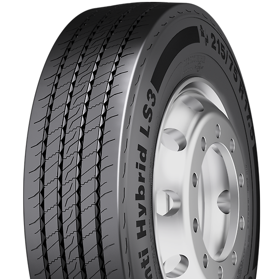 Anvelope CONTINENTAL HYBRID LS3 215/75 R17.5 124 M