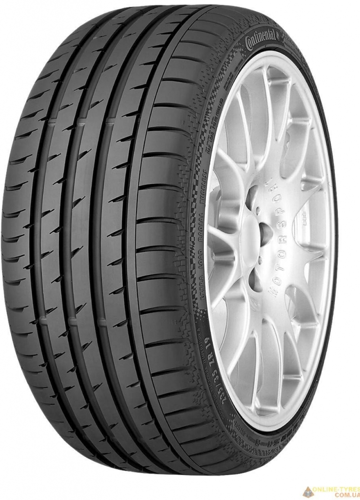 Anvelope Vara CONTINENTAL SPORT CONTACT 3 245/45 R19 98 W